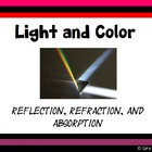 Light and Color: Reflection, Refraction and Absorption Pre