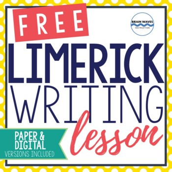 Limerick Writing Lesson - St. Patrick's Day - Poetry Study and Writing