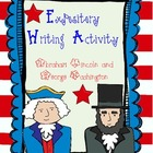Lincoln and Washington Expository Writing Activity