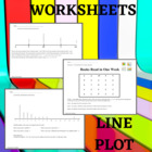 Line Plot Worksheet