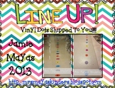Line Up Vinyl Dots {Line Leader/Door Holder}