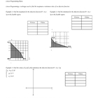 Linear Programming Guided Notes