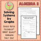 Linear Systems ALG 2 Lesson 1: Solving Systems By Graphing