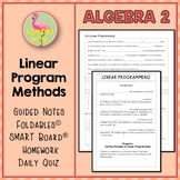 Lesson 4: Linear Programming