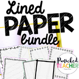 Lined Publishing Paper Freebie