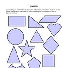 Lines of Symmetry Activity