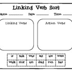Linking Verb Sort