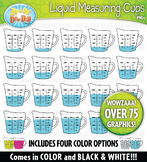 Liquid Measuring Cup Clipart — Over 75 Bright Graphics!