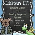 Listen UP!  Listening Station and Reading Response Unit-January