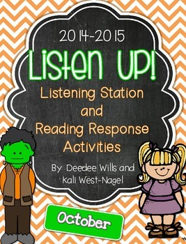 Listen UP!  Listening Station and Reading Response Unit-October2014/15
