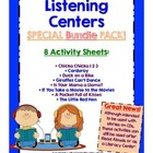 Listening Center Activities Pack - Common Core Literacy Centers