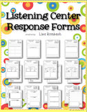 Listening Center Response Forms for Primary Grades
