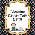 Listening Center Task Card Activities