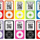 Listening Center Twist~QR Code reveals story~20 iPod popul