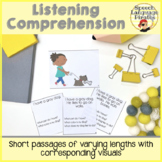 Listening Comprehension Pack - Differentiated with Visuals