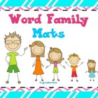 Lit. Station Word Family Mats