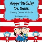 Literacy Activities for Read Across America {Seuss' Birthday!}