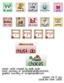 Literacy Center Cards for Pocket Charts