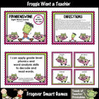 Literacy Center--Frankenswine Sight Word Game (Third 100 F