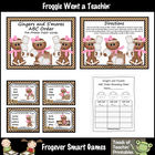 Literacy Center -- Gingers and S'mores ABC Order Bundle (4
