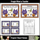 Literacy Center -- Goin' Batty Over ABC Order (4 words/fir