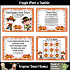 Literacy Center--Halloween Hoe Down Tic Tac Read Bundle I
