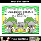 Literacy Center--Koala Readers Down Under (Alphabet/What C