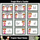 Literacy Center -- Superheroes Blends and Digraphs (girl theme)