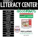 Literacy Centers- DECEMBER