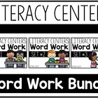 Literacy Centers Super Packs 1-3 BUNDLED