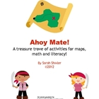 Literacy, Math and Reading activities: Pirates Ahoy Matey!