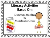 Literacy Packet - Based on Donavan's Word Jar