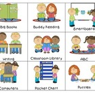 Literacy Station Management Cards