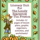 "Literacy Unit on ""The Lonely Scarecrow"""
