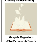 Literary Analysis Essay Graphic Organizer