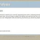 Literary Analysis Webquest for any novel