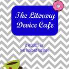 Literary Cafe Menu Instructions