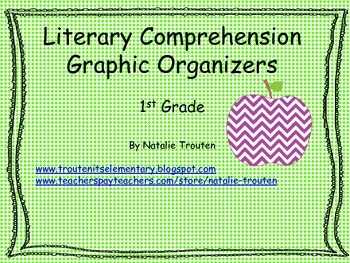 Literary Graphic Organizers for 1st grade
