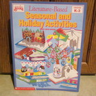 Literature-Based Seasonal/Holiday Activities Book Gr. K-3
