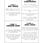 Literature Circle/ Book Club Guideline Cards- Black and White