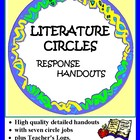 Literature Circle: Student Response Sheets - Common Core Aligned