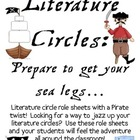 Literature Circles Packet...Prepare to Get your Sea Legs!