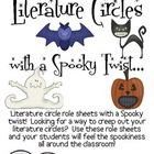 Literature Circles Packet..with a Spooky Twist!