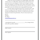 Literature Circles - Parent Letter