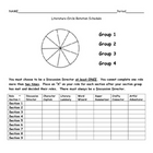 Literature Circles / Rotation Schedule