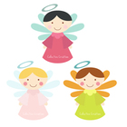 Little Angels Digital Clip Art Set - Commercial and Personal Use