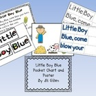 Little Boy Blue Pocket Chart Sentence Strips