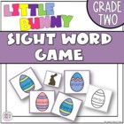 Little Bunny Sight Word Game Grade Two Dolch Word List