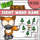Little Deer Sight Word Game Primer Dolch List