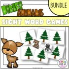 Little Deer Sight Word Games (BUNDLED)